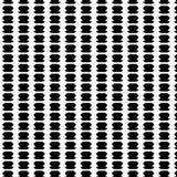 抽象黑白传染媒介无缝的几何的样式 库存图片