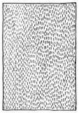 抽象黑白单色墨水冲程纹理背景传染媒介 免版税库存照片