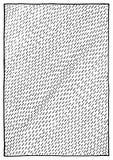 抽象黑白单色墨水冲程纹理背景传染媒介 免版税库存图片