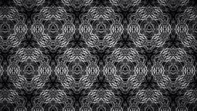 抽象黑白线墙纸 免版税库存照片