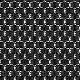 抽象黑白装饰品,鞋带纹理 免版税库存图片