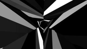抽象黑白转动的背景1 股票录像