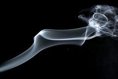 抽象轻的烟 免版税库存照片