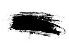 抽象画笔冲程 免版税库存图片