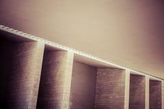 抽象建筑墙壁细节 图库摄影