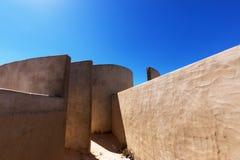 抽象建筑学,声音房间细节在福特莱萨de萨格里什 库存照片
