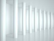 抽象建筑学, 3D 免版税图库摄影