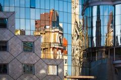 抽象建筑学 库存图片