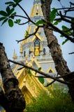 抽象建筑学Sothon wararam worawihan寺庙 库存照片