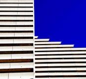 抽象建筑限界 免版税库存照片