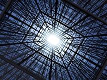 抽象建筑结构 免版税库存图片