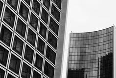 抽象建筑细节和片段 免版税库存照片