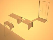 抽象建筑 免版税库存图片