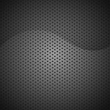 抽象黑纹理背景碳 免版税库存图片
