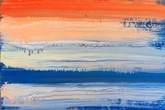 抽象绘画纹理背景 免版税库存照片