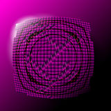 抽象紫罗兰色背景 皇族释放例证