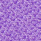 抽象紫罗兰色水晶背景 库存照片