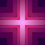 抽象紫色三角塑造背景 库存图片