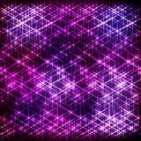 抽象紫色光亮的背景 库存图片