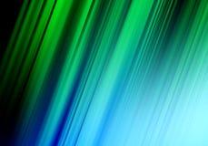 抽象绿色和蓝线背景 图库摄影