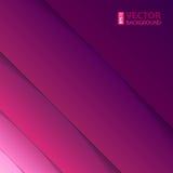 抽象紫色和紫罗兰色长方形形状 免版税库存照片