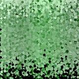 抽象绿色圈子背景 免版税库存图片