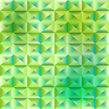 抽象绿色多角形背景 免版税库存图片