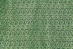 抽象绿色有花边的背景 免版税图库摄影