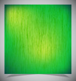 抽象绿色木背景 向量例证