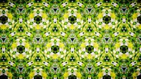 抽象黄绿色箭头样式背景 免版税库存照片