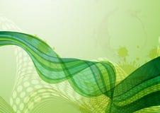 抽象绿色背景。 免版税图库摄影
