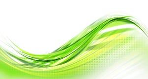 抽象绿色背景现代设计 库存例证