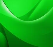 抽象绿色背景whith线 免版税库存图片