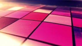 抽象紫色领域 库存照片
