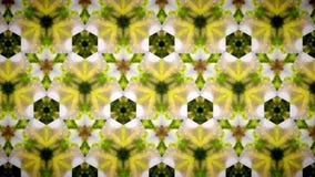 抽象黄绿色flblock样式背景 免版税库存照片