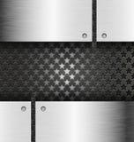 抽象黑金属技术背景 库存例证