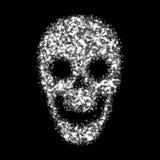 抽象头骨 也corel凹道例证向量 库存照片