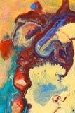 抽象绘画 免版税库存图片
