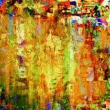 抽象绘画 免版税库存照片