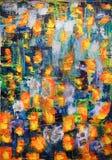 抽象派绘画 免版税库存图片