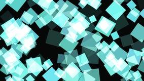 抽象3D几何背景 在行动的几何表面 库存例证