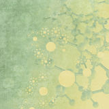 抽象3d分子医疗背景 库存图片