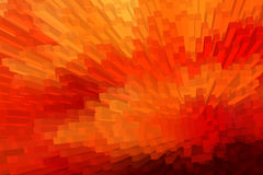 抽象3D块背景 向量例证