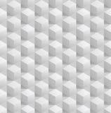 抽象3d无缝的立方体背景。传染媒介eps8 免版税库存照片