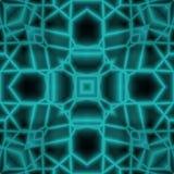 抽象3D空间万花筒设计 免版税库存照片