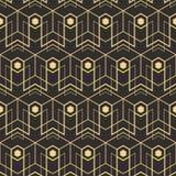 抽象派deco无缝的pattern_1 免版税库存照片