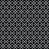 抽象派Deco黑&灰色豪华装饰样式 免版税库存图片