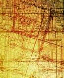 抽象archecture计划 免版税图库摄影