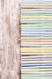 抽象bacground五颜六色的塑料秸杆 库存图片