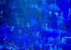 抽象backgrou蓝色绘了 皇族释放例证